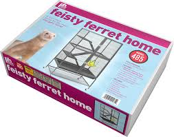 Large Ferret Cage Prevue Pet Products Feisty Ferret Home Black Hammertone Chewy Com