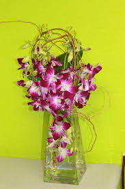flower centerpieces modern designs upscale contemporary orchids
