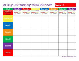 menu planning template printable meal planning templates to