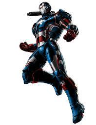 iron man villain iron patriot armor portrait man villain