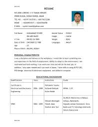 An Example Of A Resume For A Job by Example Of Good Resume 16 Resume Good Example Tips For Operations
