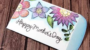 mother u0027s day gift card envelope color wednesday 41 inktense