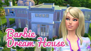 the sims 4 speed build u2014 barbie dream house youtube