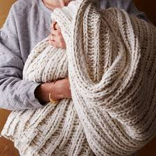 st jude gifts st jude metallic yarn knit throw west elm