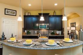 Island Kitchen Counter Kitchen With Large Half Moon Eating Bar On Island Custom Home