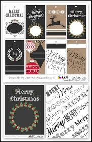 free printable holiday tags wrapping paper and sign paper the o
