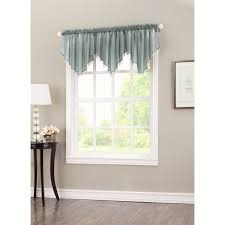 Sheer Curtains With Valance No 918 Erica Sheer Crush Voile Single Ascot Curtain Valance