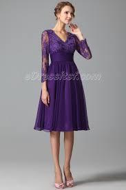 purple cocktail dresses discount evening dresses