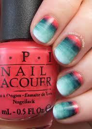 mesa sunrise watercolor gradient nail art adventures in acetone