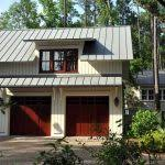 Dormer Over Front Door Luxury Car Garage Traditional With Stone Tiles Picket Fence Front