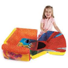 marshmallow furniture children u0027s 2 in 1 flip open foam sofa sesame