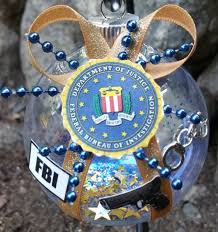 fbi ornament united states federal by beautifulballs