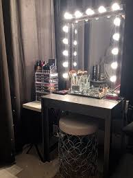 vanity hollywood lighted mirror glam diy lighted vanity mirrors decorating your small space intended