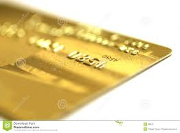 golden credit card royalty free stock photo image 98675