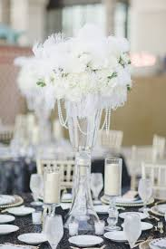 a glamorous black and white wedding every last detail