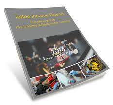 free tattoo artist income report a r t