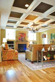 been thinking of painting my ceiling chocolate brown my beams
