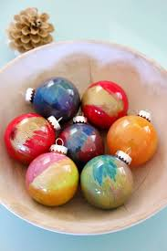 how to paint glass ornaments color mixing ornament and glass