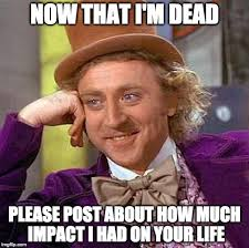 Meme Impact - rip gene wilder imgflip
