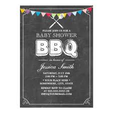 personalized baby shower bbq invitations custominvitations4u