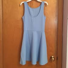 light blue sleeveless dress 50 off h m dresses nwt sleeveless dress light blue poshmark
