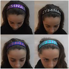 hair bands gymbandsgem gymnast hair bands by factor
