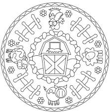 33 best mandala s kids images on pinterest coloring pages