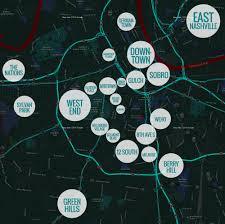 Opry Mills Mall Map Hillsboro Village Nashville Guru