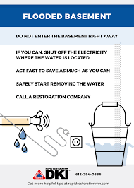 What To Do When Your Basement Floods by Flooded Basement Repair Twin Cities Rapid Restoration