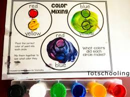 color mixing activity pack totschooling toddler preschool