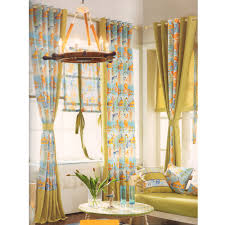Yellow Nursery Curtains Octopus And Fish Nursery Curtains Curtain Panels 2016