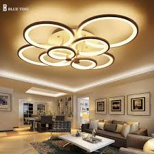 Lighting Ceiling Fixtures Aliexpress Buy Black White Color Modern Led Ceiling Lights