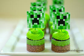 minecraft cupcakes minecraft party up creekside learning
