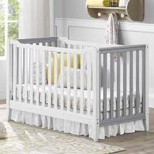 Convertible Crib White by Baby Relax Willow 2 In 1 Convertible Crib White Walmart Com