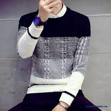 cheap clothing thick sweater slim hit the color neck