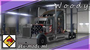 kenworth dealer ats mod kenworth w900 day cab heavy duty youtube