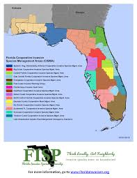 Florida Alabama Map by Florida Cismas Florida Invasive Species Partnership