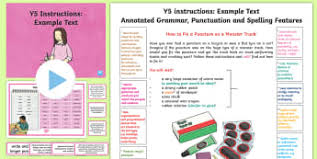 ks2 instructions primary resources instructions page 1