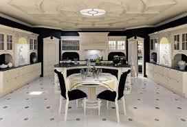 luxus küche küche aus lackiertem holz für klassische esszimmer idfdesign