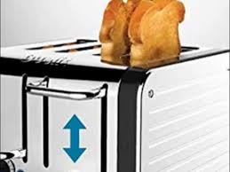Toaster With Sandwich Cage Dualit Architect 4 Slot Toaster 40505 Youtube