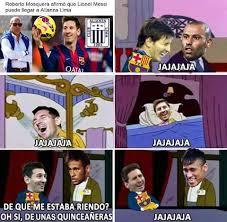 Memes Sobre Messi - facebook lionel messi responde en memes a roberto mosquera