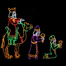 outdoor lighted nativity scene sacharoff decoration