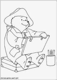coloring paddington bear kids fun coloring pages dover