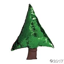 reversible sequin tree