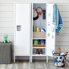 Container Store Bookcase Tall White Locker The Container Store