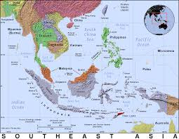 Monsoon Asia Map by Vietnam War Stories