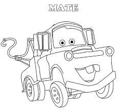 mater tow mater house coloring pages tow mater helping lighting mcqueen coloring pages tow mater happy face coloring pages mater