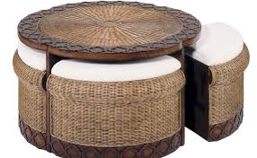 Table With Ottoman Underneath by Pleasing Black Glass Coffee Table With Storage Tags Glass Black