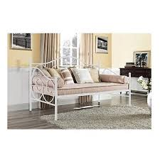 full size daybed metal frame white day bed contemporary living