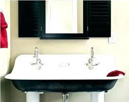 bathroom trough sink bathroom trough sink trough bathroom sink and vanity trough sink